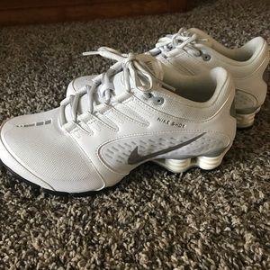 Women's white Nike Shox size 8.5